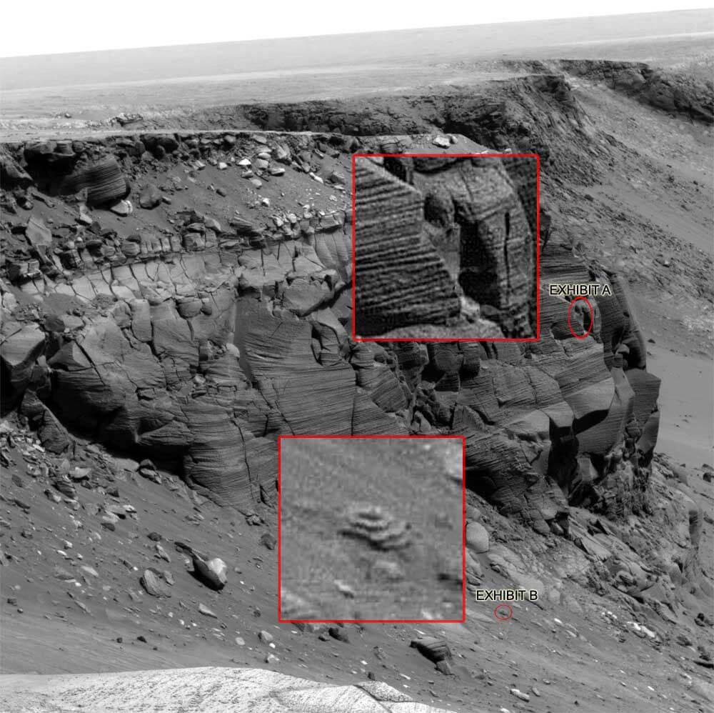 фото строения на марсе застежек-молний могут
