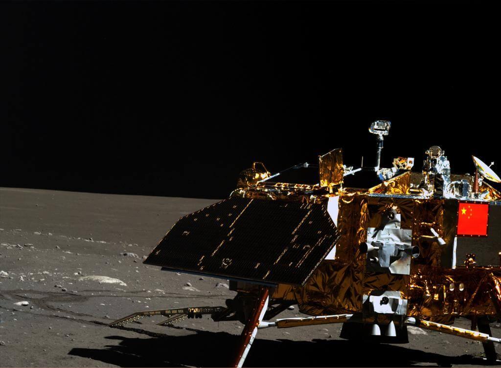 лунные фото китайцев как плоские