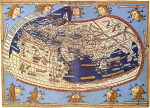 Novější mapa Claudia a Ptolemaja