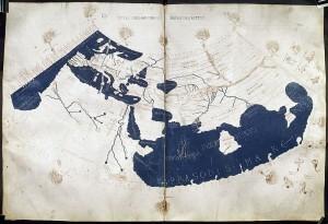 Světová mapa podle Ptolemaia