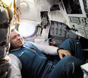 cosmonaut Oleg Skripočka, pia mwanachama wa ISS