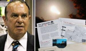 Plukovník v důchodu Charles Halt - nejstarší z bývalých US úředníků, kteří hovořili veřejně o UFO a Rendleshamu