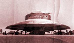 Lietajúci tanier nacistov (ilustračné foto)