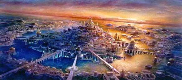 Pyramidau'r Atlanteans, neu wersi hanes anghofiedig