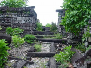 "One of the greatest mysteries is located in the eastern part of the island of Pohnpei (Ponape), ""Venice"" Pacific, Nan Madol; 92 artificial islands, built on a coral reef with an area of ​​130 hectares."