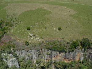 100 umri wa miaka 000 magofu kutoka Afrika Kusini