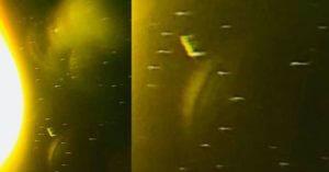 يريد FBI أو AURA أن نتغاضى عن UFOs في الشمس