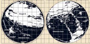 """""""Agarthy"""" žemėlapiai"""