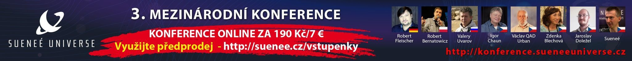 3. internationale konference Sueneé Universe